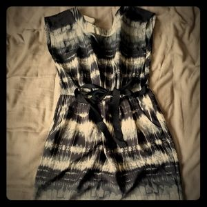 Bebop cute day dress gray and black